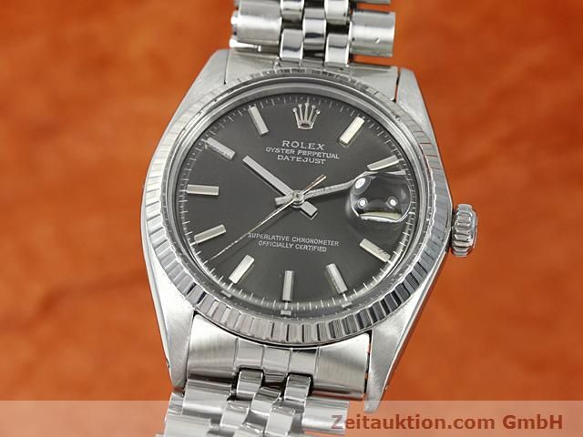 Used luxury watch Rolex Datejust steel automatic Kal. 1570 Ref. 1603  | 140624 04