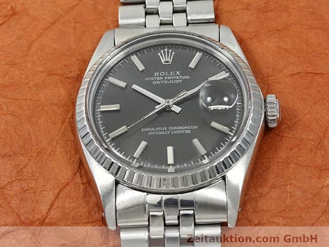 Used luxury watch Rolex Datejust steel automatic Kal. 1570 Ref. 1603  | 140624 13