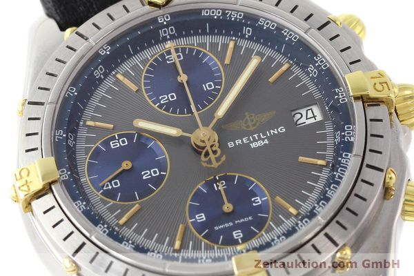 Used luxury watch Breitling Chronomat gilt steel automatic Kal. VAL 7750 Ref. 81950  | 140627 02