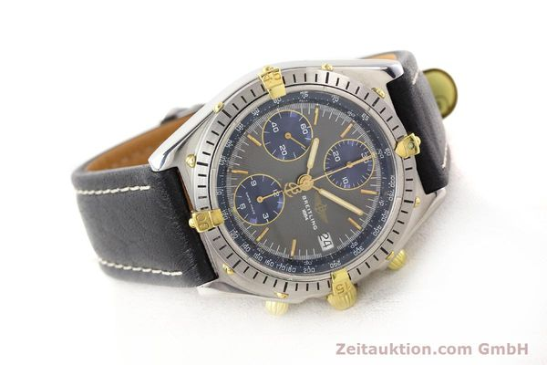 Used luxury watch Breitling Chronomat gilt steel automatic Kal. VAL 7750 Ref. 81950  | 140627 03