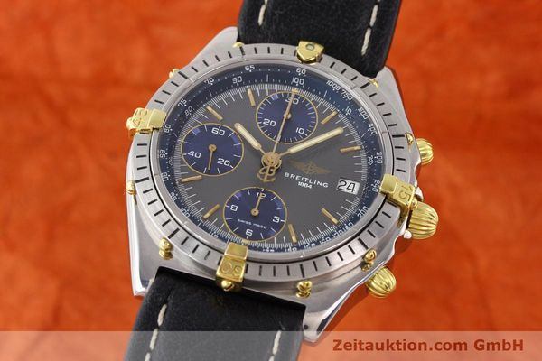 Used luxury watch Breitling Chronomat gilt steel automatic Kal. VAL 7750 Ref. 81950  | 140627 04