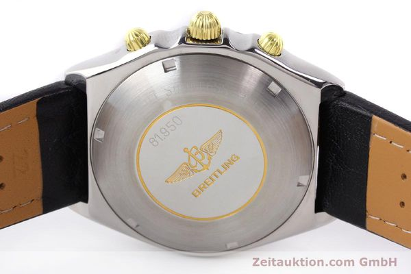 Used luxury watch Breitling Chronomat gilt steel automatic Kal. VAL 7750 Ref. 81950  | 140627 09