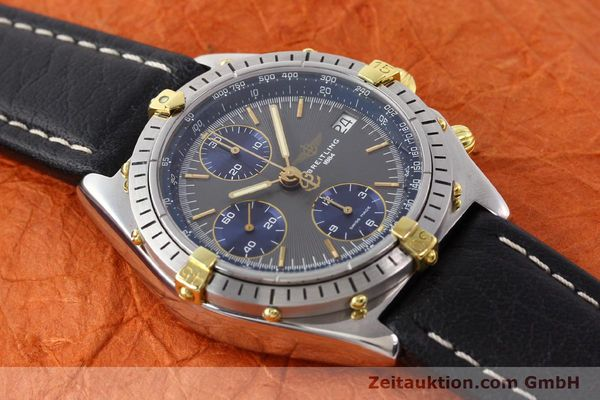 Used luxury watch Breitling Chronomat gilt steel automatic Kal. VAL 7750 Ref. 81950  | 140627 11