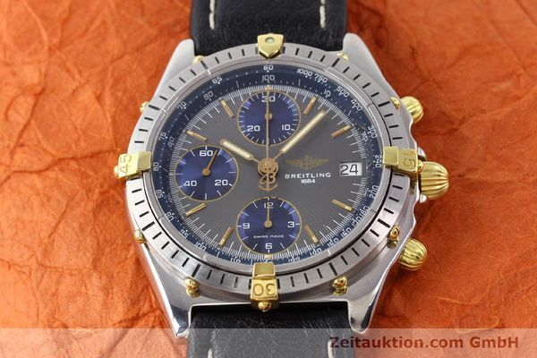 Used luxury watch Breitling Chronomat gilt steel automatic Kal. VAL 7750 Ref. 81950  | 140627 12