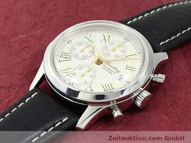 Used luxury watch Breitling Navitimer steel automatic Kal. ETA 7750 Ref. A13024  | 140628 01