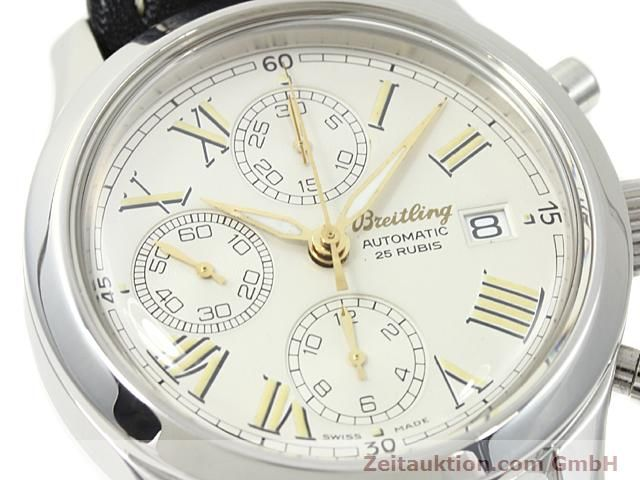Used luxury watch Breitling Navitimer steel automatic Kal. ETA 7750 Ref. A13024  | 140628 02