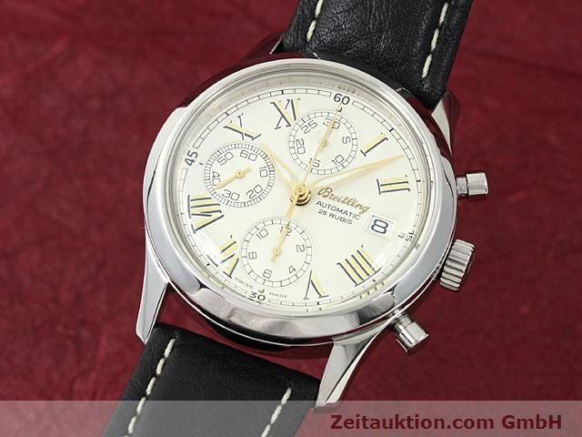 Used luxury watch Breitling Navitimer steel automatic Kal. ETA 7750 Ref. A13024  | 140628 04
