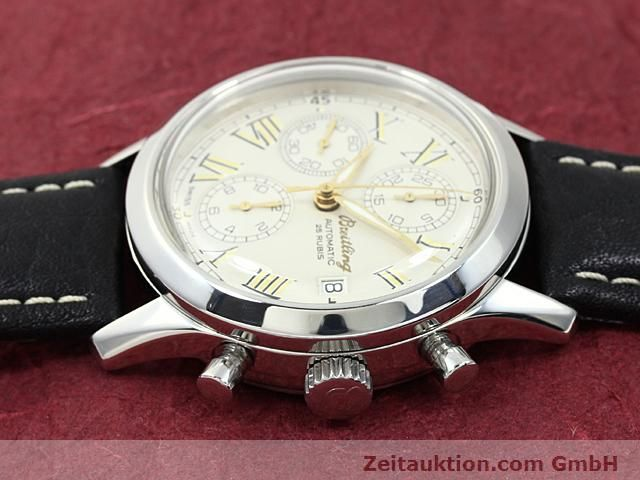 Used luxury watch Breitling Navitimer steel automatic Kal. ETA 7750 Ref. A13024  | 140628 05