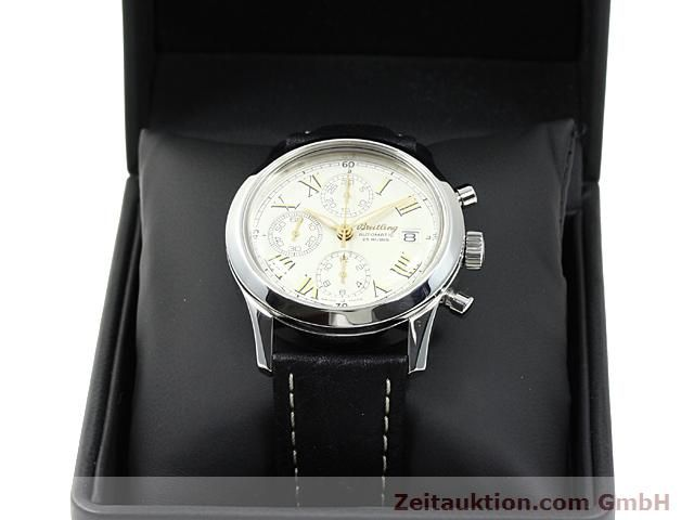 Used luxury watch Breitling Navitimer steel automatic Kal. ETA 7750 Ref. A13024  | 140628 07
