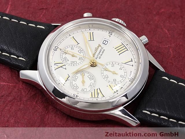 Used luxury watch Breitling Navitimer steel automatic Kal. ETA 7750 Ref. A13024  | 140628 11