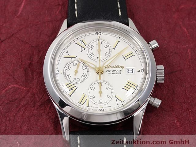 Used luxury watch Breitling Navitimer steel automatic Kal. ETA 7750 Ref. A13024  | 140628 12