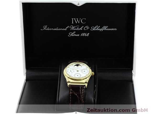 Used luxury watch IWC Ingenieur 18 ct gold automatic Kal. C.3758 Ref. 3540  | 140634 07