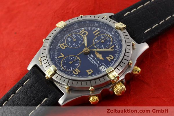 Used luxury watch Breitling Chronomat gilt steel automatic Kal. ETA 7750 Ref. 81950B13047  | 140636 01