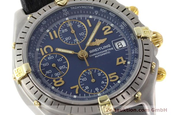 Used luxury watch Breitling Chronomat gilt steel automatic Kal. ETA 7750 Ref. 81950B13047  | 140636 02