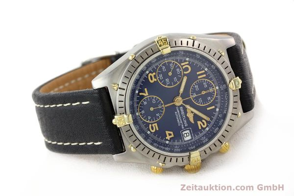 Used luxury watch Breitling Chronomat gilt steel automatic Kal. ETA 7750 Ref. 81950B13047  | 140636 03