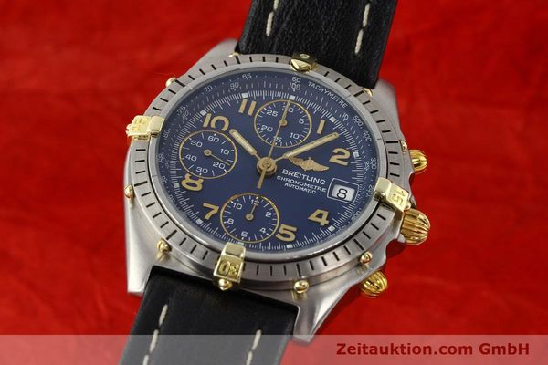 Used luxury watch Breitling Chronomat gilt steel automatic Kal. ETA 7750 Ref. 81950B13047  | 140636 04