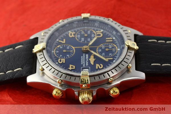 Used luxury watch Breitling Chronomat gilt steel automatic Kal. ETA 7750 Ref. 81950B13047  | 140636 05