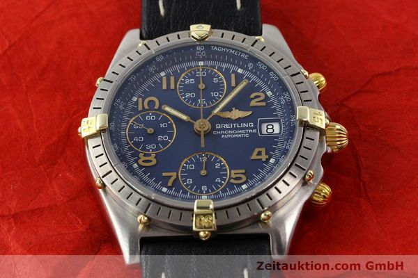 Used luxury watch Breitling Chronomat gilt steel automatic Kal. ETA 7750 Ref. 81950B13047  | 140636 14