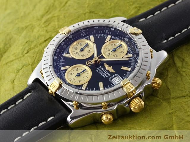 Used luxury watch Breitling Chronomat gilt steel automatic Kal. ETA 7750 Ref. B13350  | 140637 01
