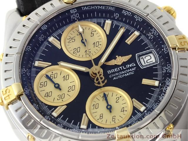 Used luxury watch Breitling Chronomat gilt steel automatic Kal. ETA 7750 Ref. B13350  | 140637 02