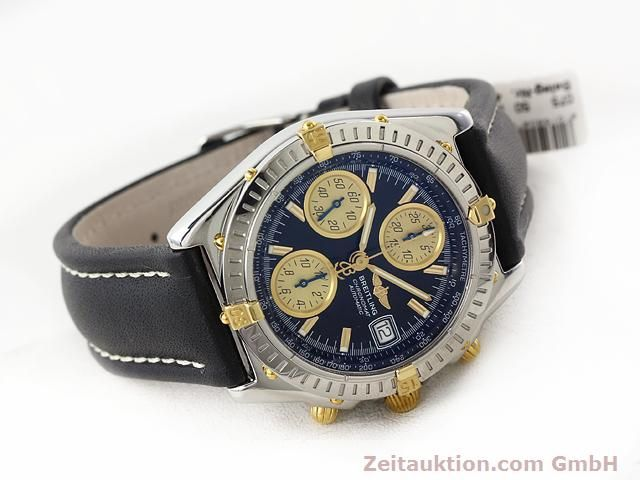 Used luxury watch Breitling Chronomat gilt steel automatic Kal. ETA 7750 Ref. B13350  | 140637 03