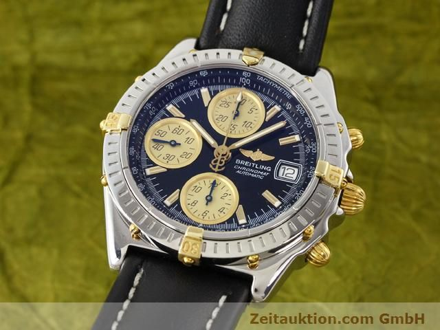 Used luxury watch Breitling Chronomat gilt steel automatic Kal. ETA 7750 Ref. B13350  | 140637 04
