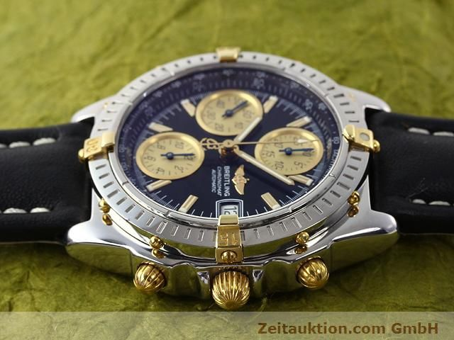 Used luxury watch Breitling Chronomat gilt steel automatic Kal. ETA 7750 Ref. B13350  | 140637 05