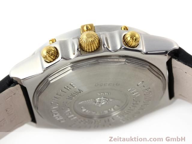 Used luxury watch Breitling Chronomat gilt steel automatic Kal. ETA 7750 Ref. B13350  | 140637 08