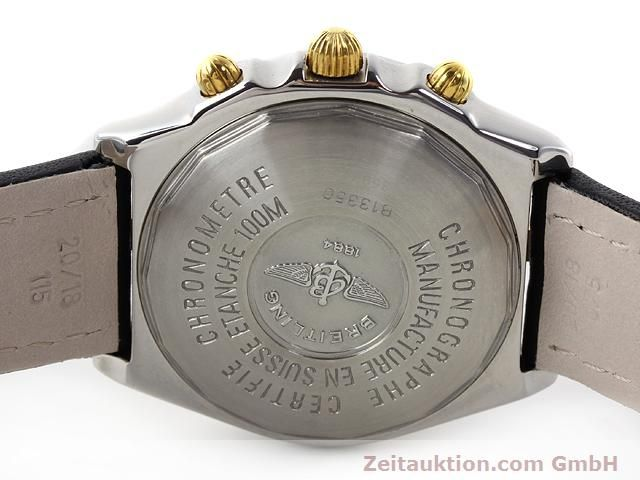 Used luxury watch Breitling Chronomat gilt steel automatic Kal. ETA 7750 Ref. B13350  | 140637 09