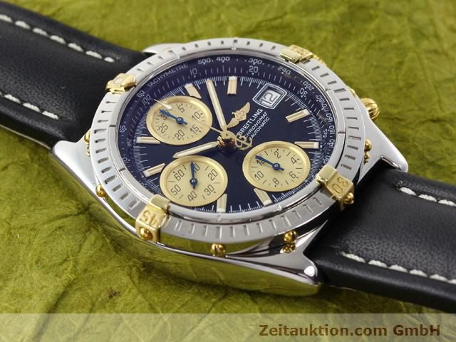 Used luxury watch Breitling Chronomat gilt steel automatic Kal. ETA 7750 Ref. B13350  | 140637 12