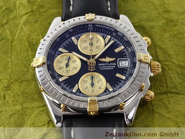 Used luxury watch Breitling Chronomat gilt steel automatic Kal. ETA 7750 Ref. B13350  | 140637 13