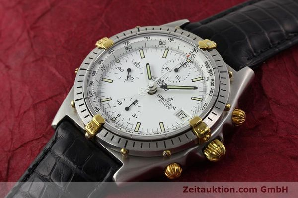 Used luxury watch Breitling Chronomat gilt steel automatic Kal. VAL 7750 Ref. 81950  | 140638 01