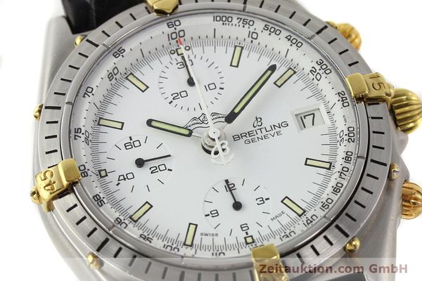Used luxury watch Breitling Chronomat gilt steel automatic Kal. VAL 7750 Ref. 81950  | 140638 02