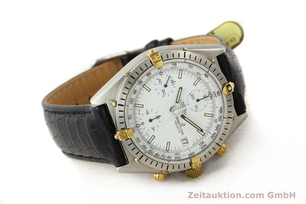 Used luxury watch Breitling Chronomat gilt steel automatic Kal. VAL 7750 Ref. 81950  | 140638 03