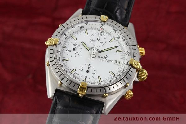 Used luxury watch Breitling Chronomat gilt steel automatic Kal. VAL 7750 Ref. 81950  | 140638 04