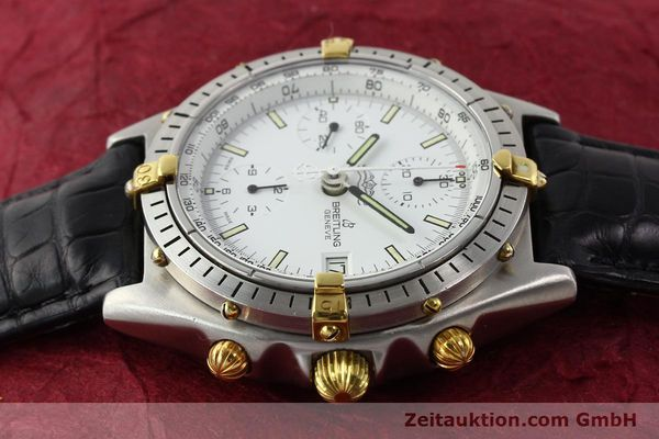 Used luxury watch Breitling Chronomat gilt steel automatic Kal. VAL 7750 Ref. 81950  | 140638 05