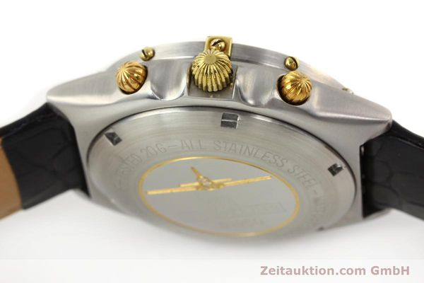 Used luxury watch Breitling Chronomat gilt steel automatic Kal. VAL 7750 Ref. 81950  | 140638 08