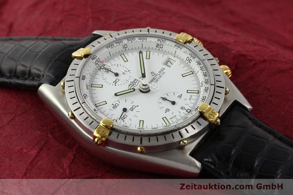Used luxury watch Breitling Chronomat gilt steel automatic Kal. VAL 7750 Ref. 81950  | 140638 13