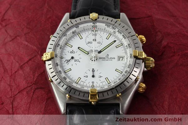 Used luxury watch Breitling Chronomat gilt steel automatic Kal. VAL 7750 Ref. 81950  | 140638 14