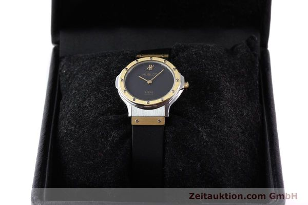 Used luxury watch Hublot MDM gilt steel quartz Ref. 12801002  | 140639 07
