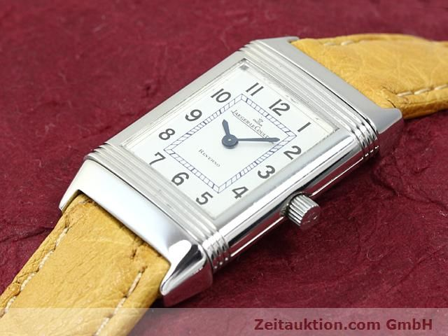 Used luxury watch Jaeger Le Coultre Reverso steel quartz Kal. 608 Ref. 260.808  | 140641 01