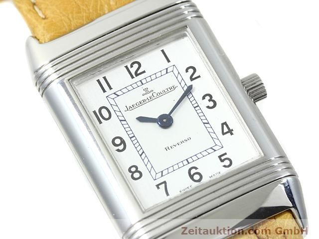 Used luxury watch Jaeger Le Coultre Reverso steel quartz Kal. 608 Ref. 260.808  | 140641 02