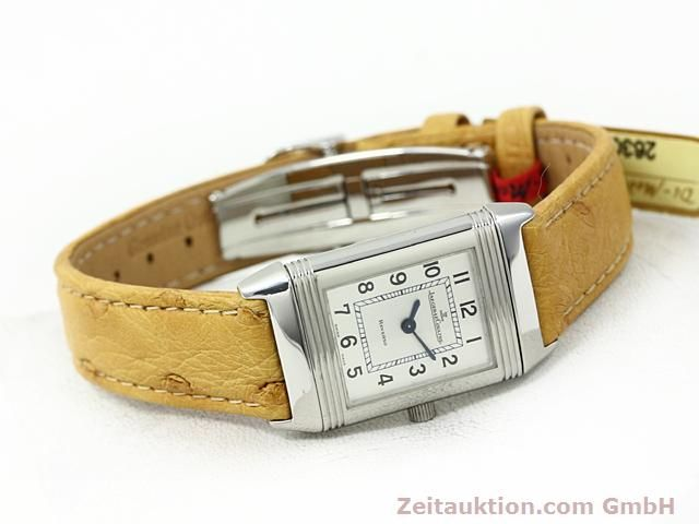Used luxury watch Jaeger Le Coultre Reverso steel quartz Kal. 608 Ref. 260.808  | 140641 03