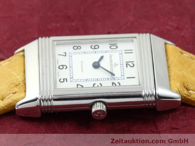Used luxury watch Jaeger Le Coultre Reverso steel quartz Kal. 608 Ref. 260.808  | 140641 05