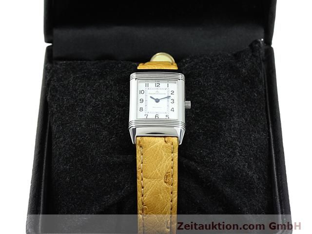 Used luxury watch Jaeger Le Coultre Reverso steel quartz Kal. 608 Ref. 260.808  | 140641 07