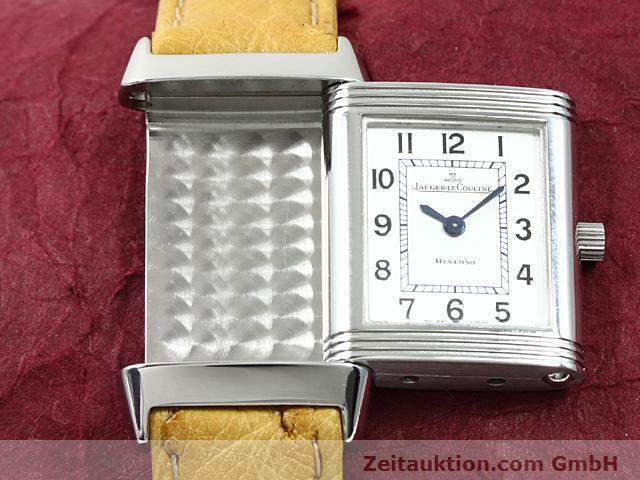 Used luxury watch Jaeger Le Coultre Reverso steel quartz Kal. 608 Ref. 260.808  | 140641 12