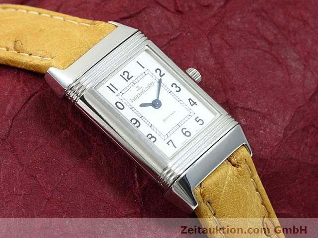 Used luxury watch Jaeger Le Coultre Reverso steel quartz Kal. 608 Ref. 260.808  | 140641 13
