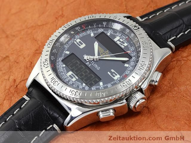 Used luxury watch Breitling B1 steel quartz Kal. ETA E20351 Ref. A68062  | 140649 01