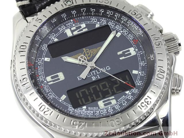 Used luxury watch Breitling B1 steel quartz Kal. ETA E20351 Ref. A68062  | 140649 02