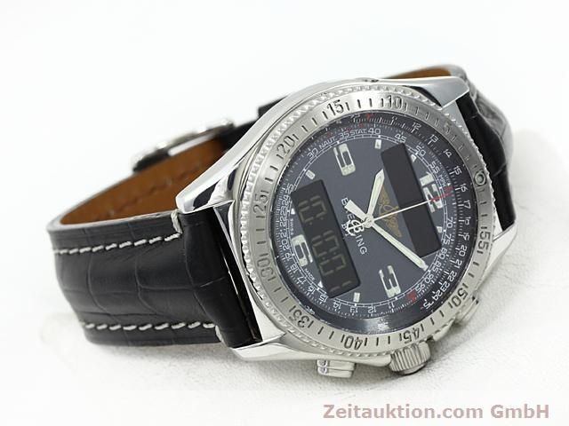 Used luxury watch Breitling B1 steel quartz Kal. ETA E20351 Ref. A68062  | 140649 03